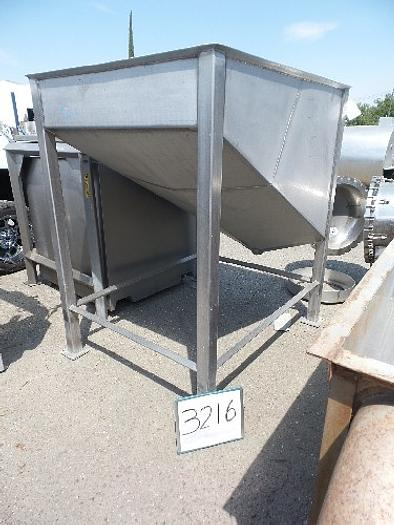 Stainless Steel Dump Tank