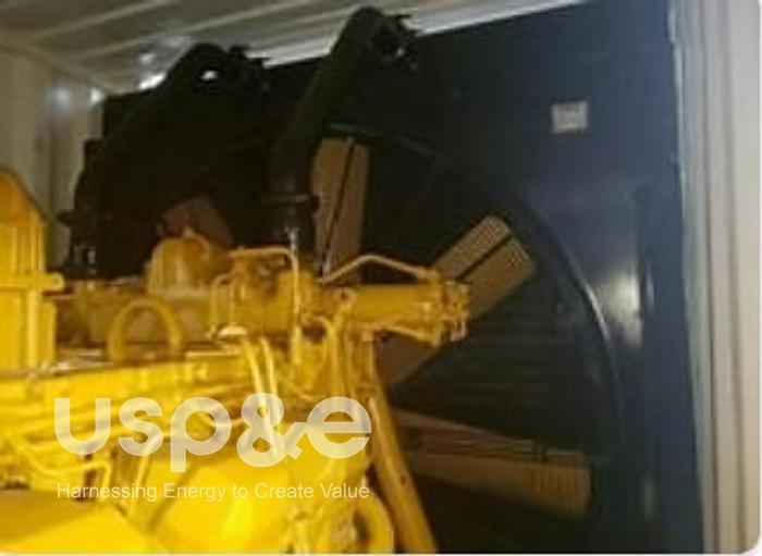 Used 1.5 MW 2000 Used Caterpillar 3512B Diesel Generator Sets