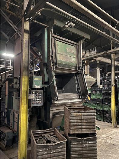 WHEELABRATOR SHOT BLAST MACHINE