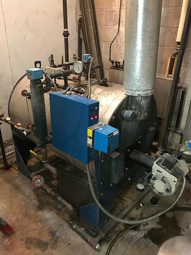 General boiler for dry cleaners 15 horsepower