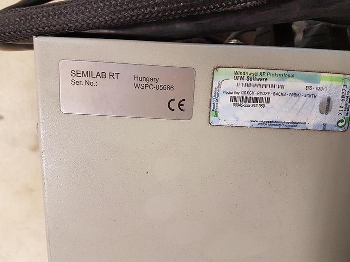 Semilab RT  WT-2000 Wafer Scanner Life Time Tester