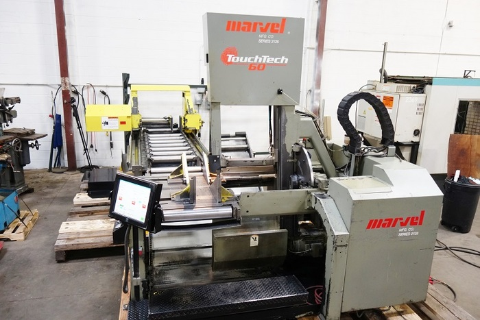 Marvel 2125 Touch Tech 60 Programmable Tilt Frame Automatic Vertical Band Saw