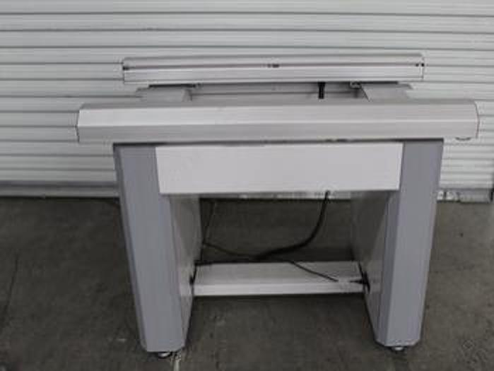 "Used MYDATA   MYCRONIC Electrodesign Conveyor 47"" long, 2 stage"