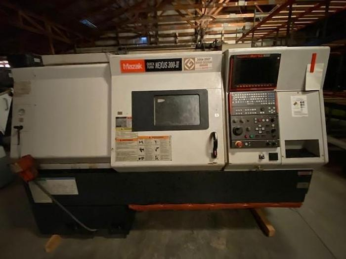 Used 2008 MAZAK QUICK TURN NEXUS 300-II CNC LATHE