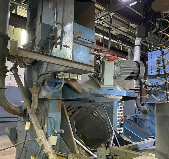 Used 1994 JET MT-6B WHEEL BLAST MULTI-TUMBLER