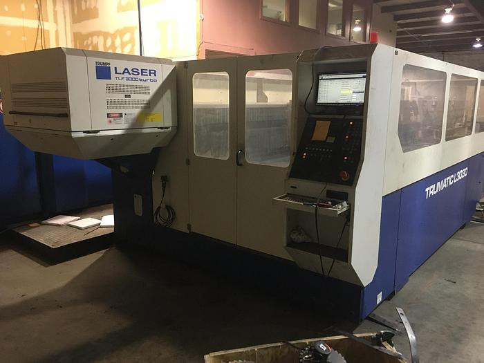 Used 1999 TRUMPF TRUMATIC TLC 3030, WILL BE MAKING PARTS UNTIL SOLD