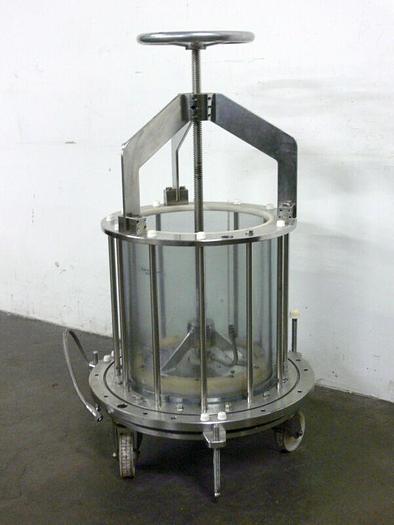 Used Merck Superformance 500-450 mm Chromatography Column 79 Liter Capacity