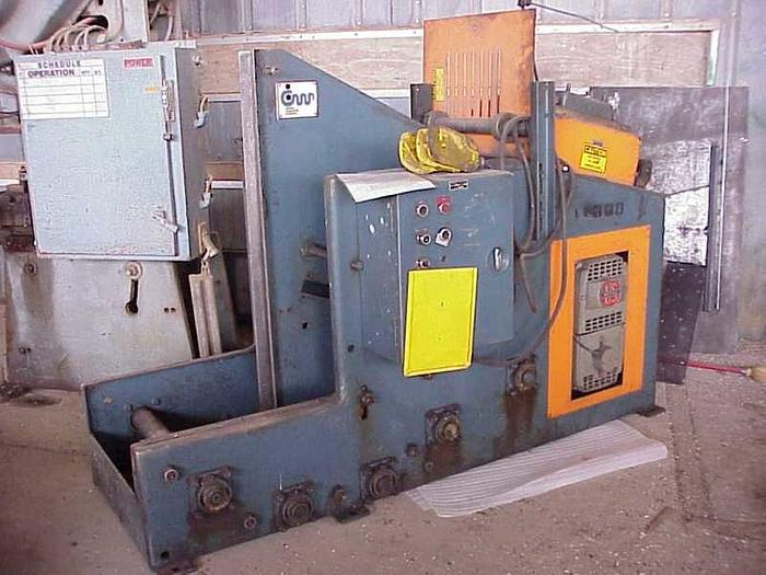1982 CWP No. CWPP12BCS 7-Roll Straightener | 5000lb