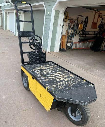 Used EZ-GO Stock Chaser Cart