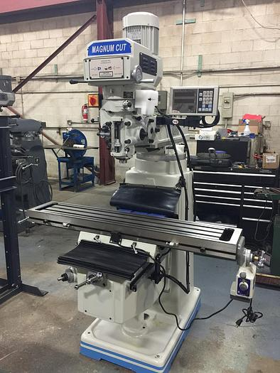"10"" X 54"", NEW, MAGNUM-CUT 3VS, VERTICAL MILLING MACHINE"