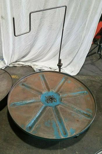 """Used 36"""" Stock Reel Metal Material Strip Payoff Stamping I"""