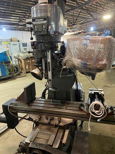 """Used Bridgeport Mill Series 42"""" 2J 1.5 hp"""