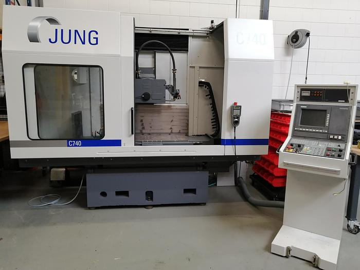 Gerenoveerd Jung CNC C740