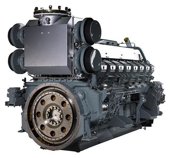 Used 1.5 MW 2007 Used Mitsubishi S16R-PTA2 Diesel Generator Set