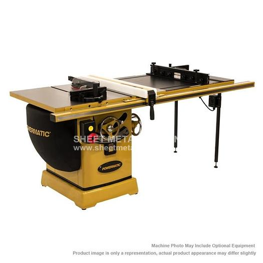 "POWERMATIC PM2000 Tablesaw 5HP 3PH 230/460V 50"" Accu-Fence System, Router Lift PM25350RK"