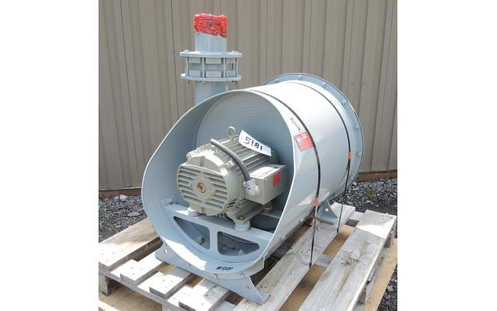 USED DUST COLLECTOR / CENTRAL VACUUM SYSTEM, SHAKER, 1075 CFM, 179 SQ.FT.