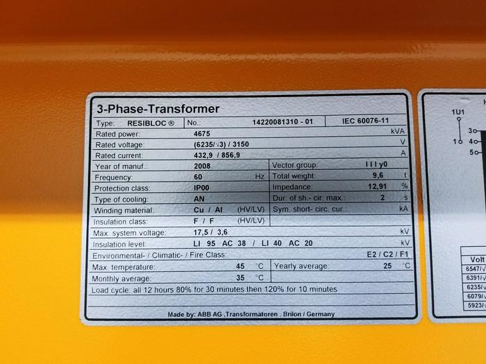 Resibloc Transformer