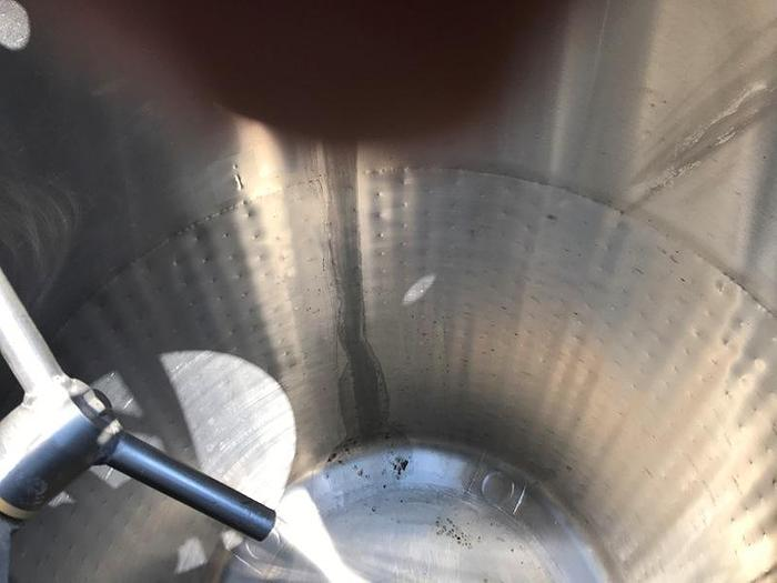 350 Gal Golden Seal Process Co Stainless Steel Tank