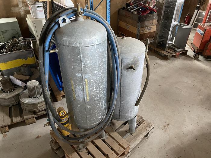 Begagnad Hydrofoner/Trycktankar 150/120liter