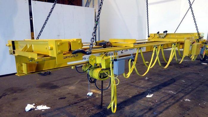 Used SCC Superior Crane Bridge Crane. 4,000 pound lift capacity