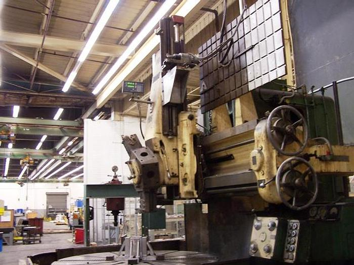 "72"" Webster & Bennett Vertical Turret Lathe 80"" Swing, 48"" Under Rail, 83 rpm, ID17311"