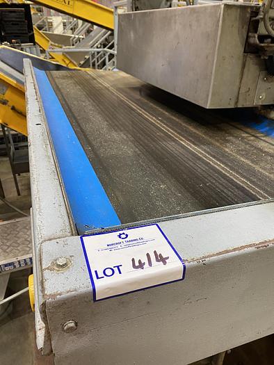 Used Steel Conveyor 2.2m L 0.85m W