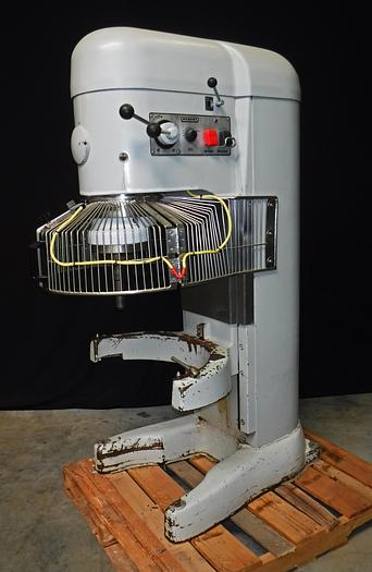 Used USED HOBART® 140-QUART MIXER WITH ADD-ON BOWL GUARD, MODEL V-1401