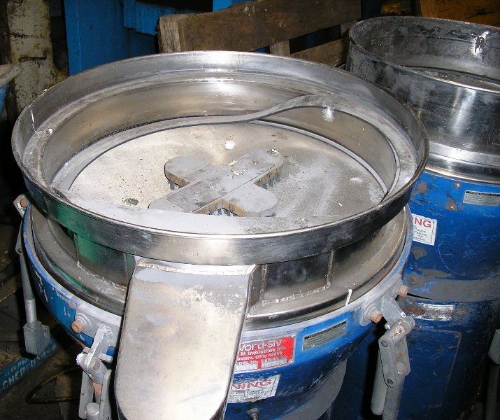 "4 Used Portable Vorti Siv's Available Manufactured by M & M Industries 20""-26"""