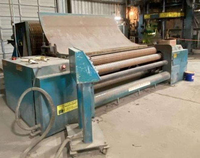 Used 2002 Wire Mesh Roller With Cutter