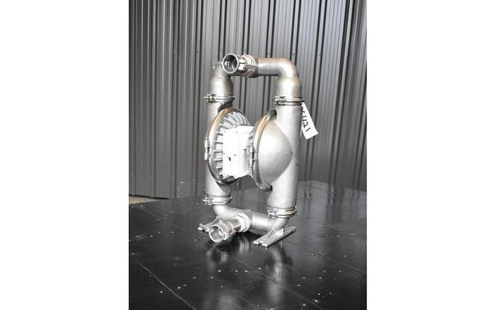 "USED WILDEN DIAPHRAGM PUMP, 2"" X 2"" INLET & OUTLET, 316 STAINLESS STEEL"