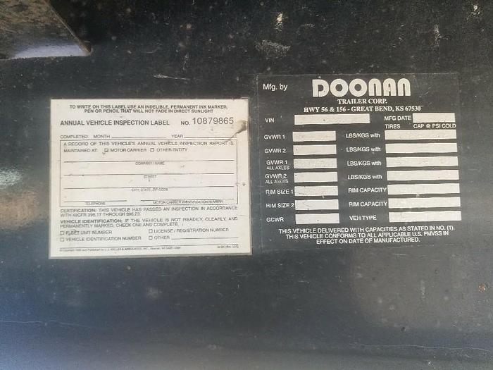 2005 DOONAN 482DB14