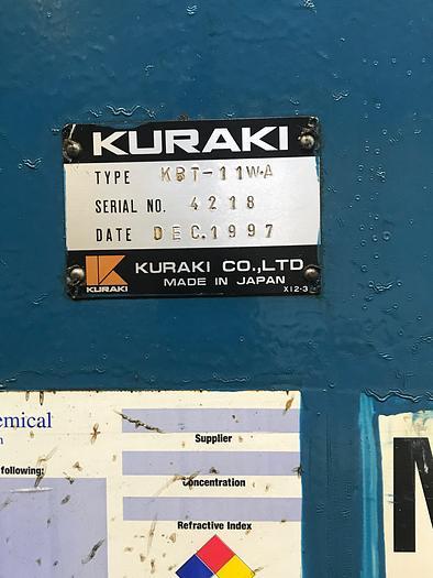 KURAKI KBT-11WA CNC HORIZONTAL BORING MILL, 1998