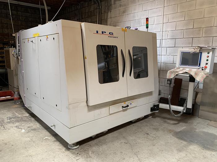 2017 - 4,000 Watt IPG Photonics' LaserCube CNC Fiber Laser