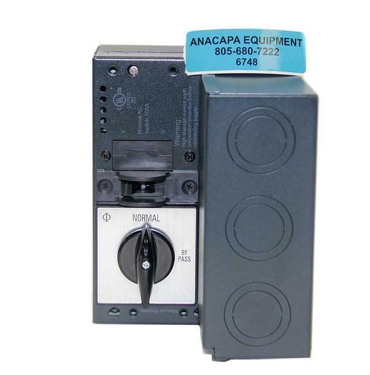 Eaton 5/7K I/O BOX, Normal AC switch 100A, New (6748)W