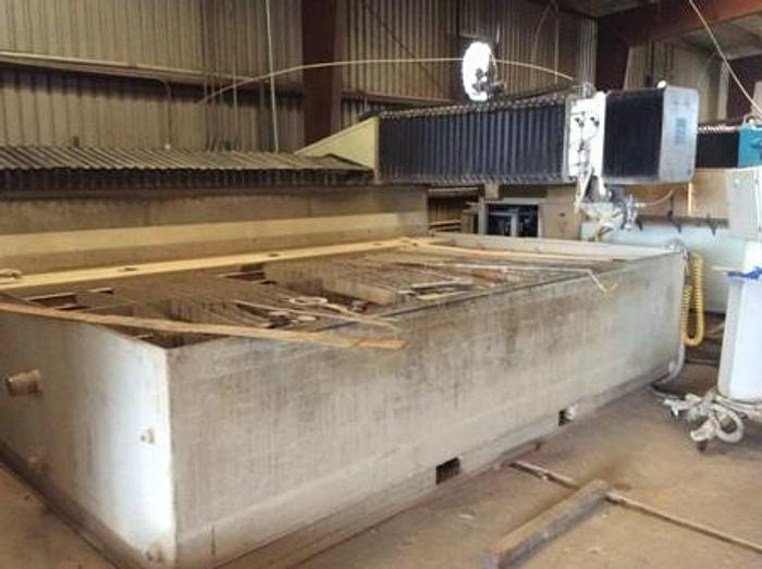 6'x 12' Flow Waterjet IFB 55K psi Hyplex pump with dynamic head, 2008