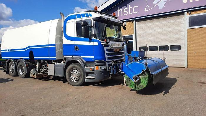 Gebruikt 2017 Scania F450