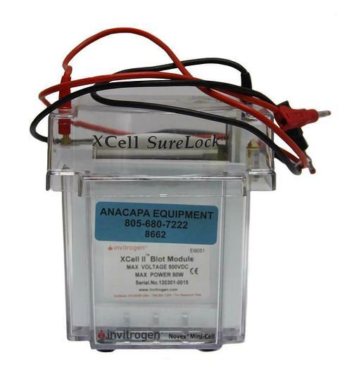 Used Invitrogen XCell SureLock Electrophoresis Novex Mini-Cell & Blot Module (8662)W