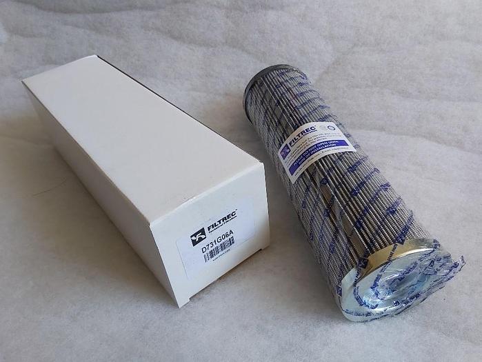 Filtereinsatz für Parker Hydraulik Druckfilter, D731G06A, (G01954Q) Filtrec,  neu
