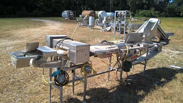Used Gizzard Inspection Conveyor