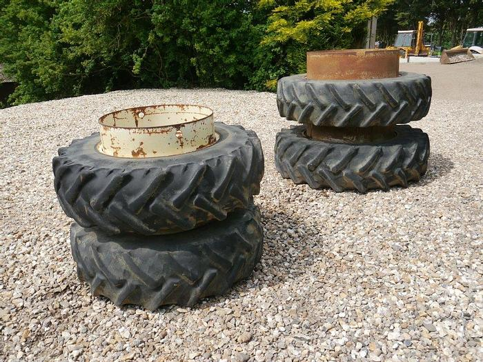 Used Stocks Dual Wheels and Tyres