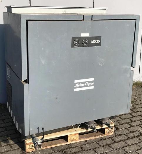 Used Atlas Copco MD 25 Air Dryer unit