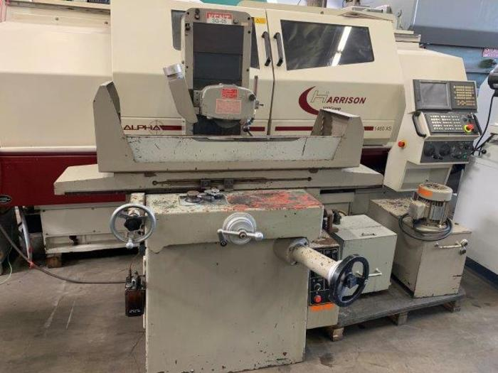"Used 8"" x 18"", KENT KGS-250AH, HYDRAULIC, 16 TO 67 FPM, 16"" SPINDLE CENTER TO TABLE [5391]"