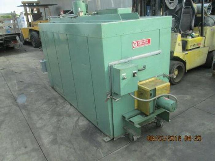WISCONSIN OVEN MODEL BATCH 3-3-8 E/RM 500 DEGREE 3' X 3' X8' ROTARY BATCH