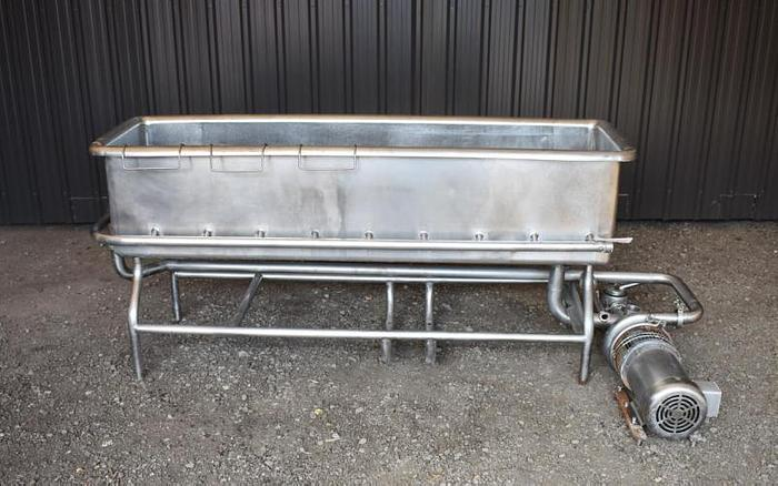 USED 100 GALLON CLEAN OUT OF PLACE ''COP'' SYSTEM, STAINLESS STEEL