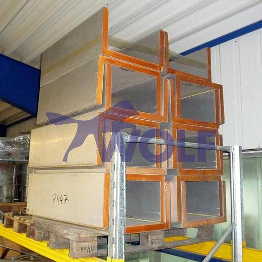 Gebraucht Kühlkanalhauben Fabrikat WOLFfür 420 mm Arbeitsbreite.