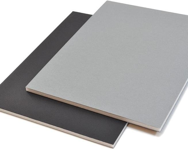 West Design 5mm A4 Black/Grey Foam Board Sheets (20)