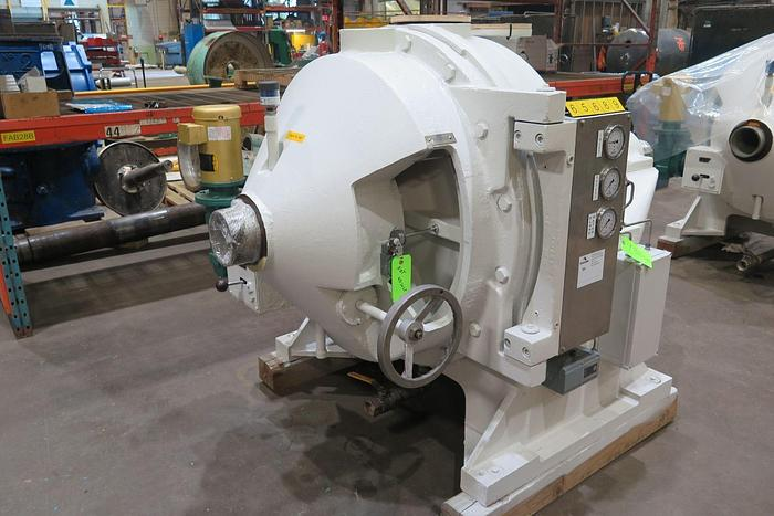 "Used 34"" Beloit  34/38  DD 4000 Refiner Reconditioned"