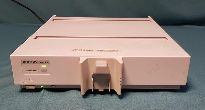 Gebraucht Philips M1026A Anesthetic Gas Module Anästhesiegasmodul