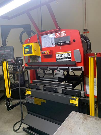 Used 2000 38 Ton Amada RG-35S CNC Press Brake