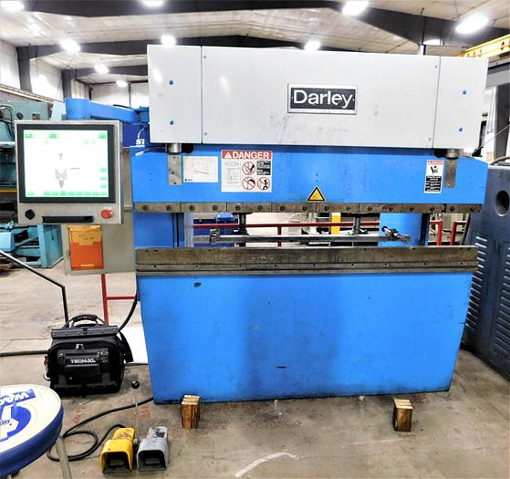 "Used 1984 Darley 80"" x 50 Ton Precision Press Brake LHP50"